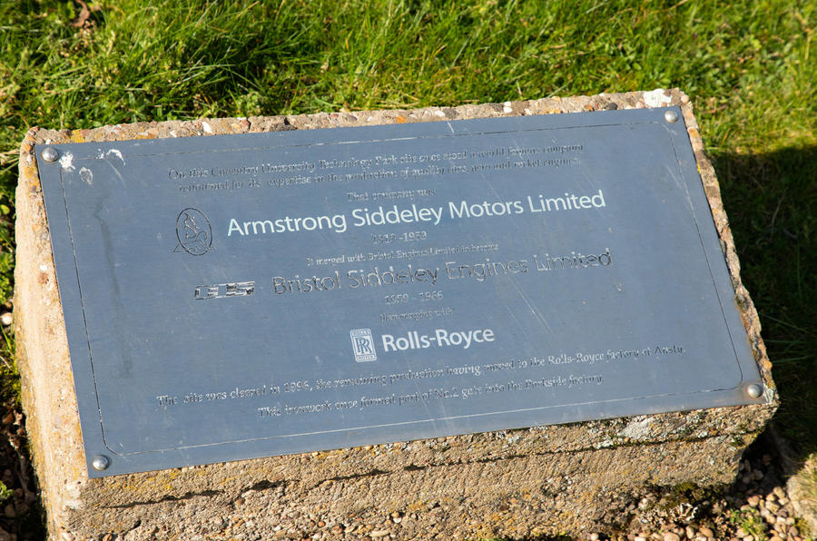 Armstrong Siddeley Motors factory