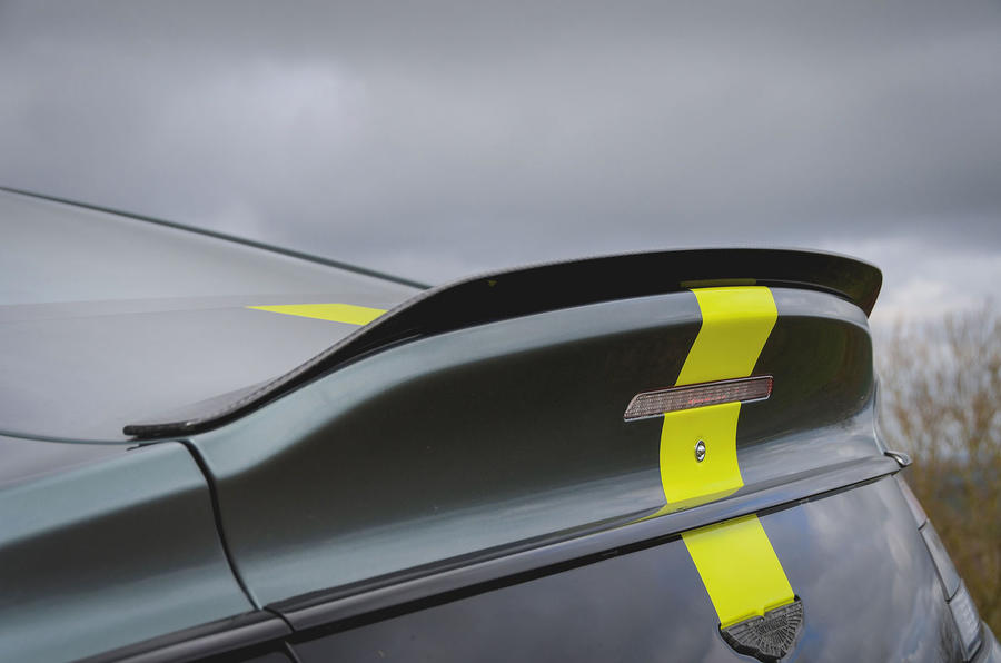 Aston Martin Rapide AMR 2019 UK first drive review - spoiler