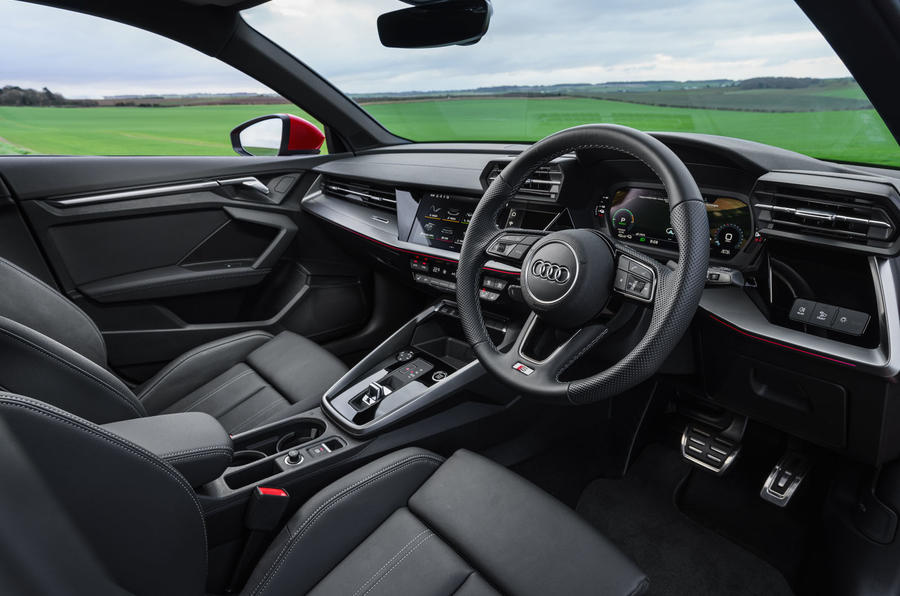 Audi A3 TFSIe 2020 UK first drive review - cabin