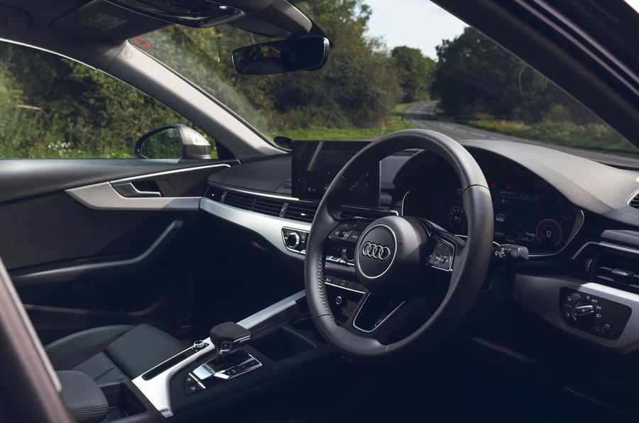 Audi A4 35 TFSI 2019 UK first drive review - dashboard