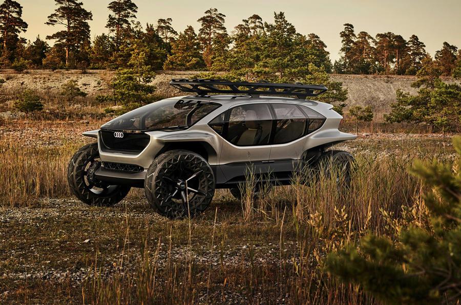 Audi AI:Trail - static front