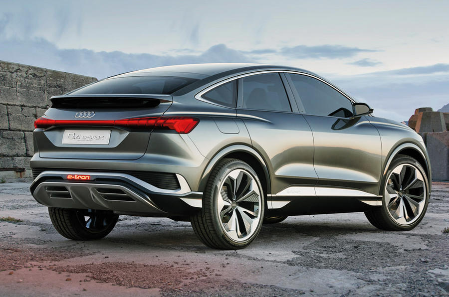 Audi Q4 Sportback E-tron is maker's seventh EV by 2021 ...