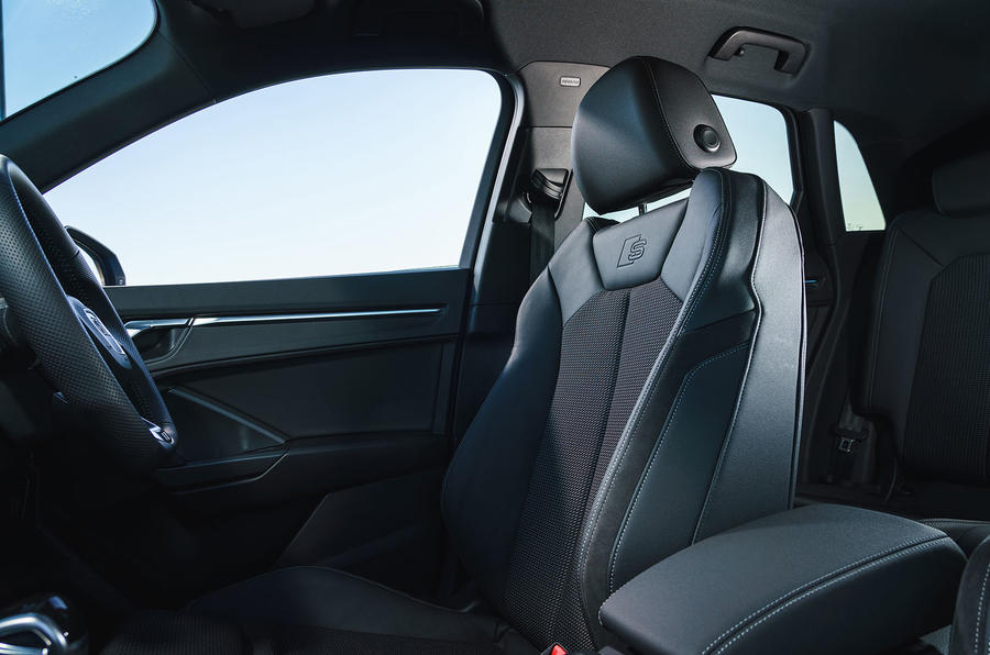 Audi Q3 45 TFSI 2019 first drive review - front seats