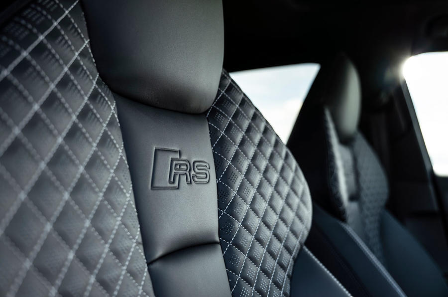 Audi RS3 Sportback 2019 UK first drive review - seat details
