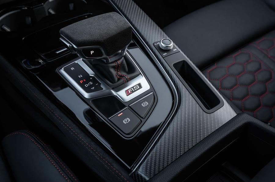 Audi RS5 Coupé 2020 first drive review - centre console