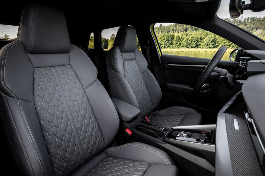 Audi S3 Sportback 2020 first drive review - cabin
