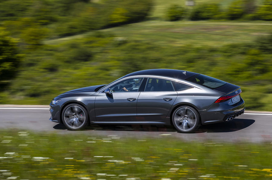 Audi S7 TDI 2019 first drive review - on the road side
