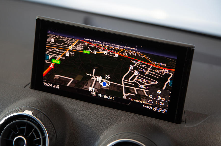 Audi SQ2 2019 UK first drive review - infotainment