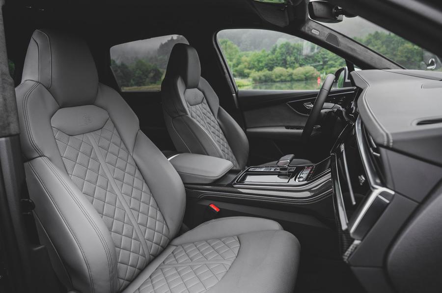 Audi SQ7 2020 : premier bilan de conduite - cabine
