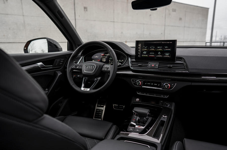 9 Audi SQ5 2021 première cabine d'examen de conduite