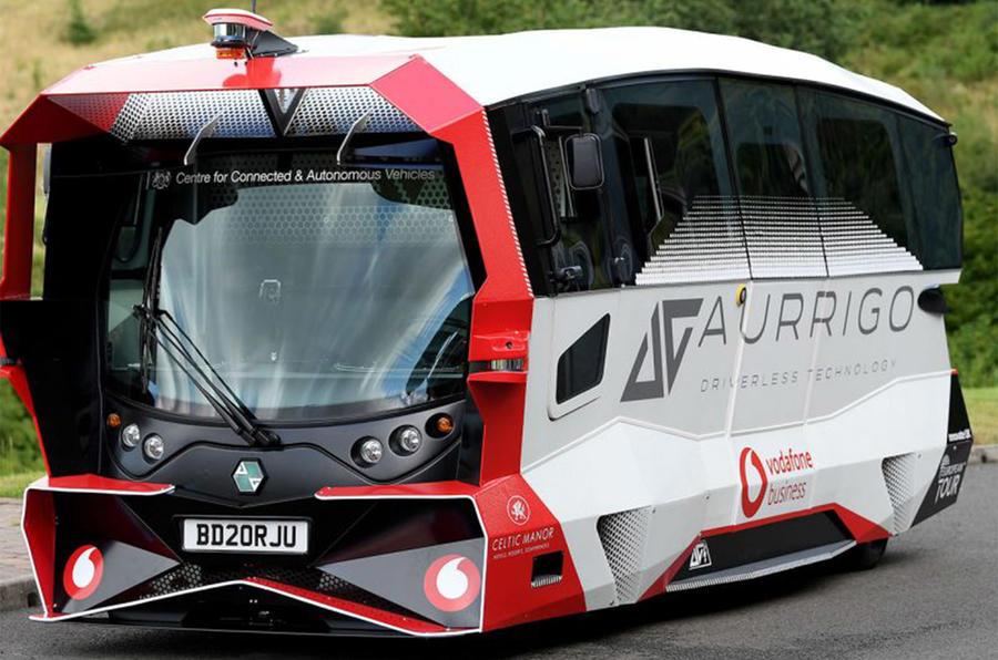 Aurrigo shuttle