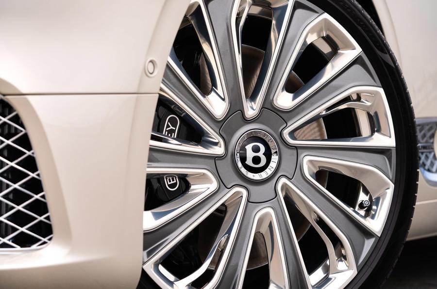 Bentley Mulliner GT - wheel