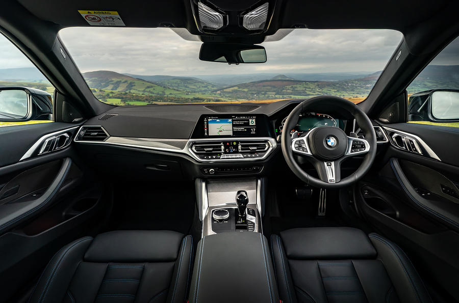 BMW 420i Coupe 2020 UK first drive review - dashboard
