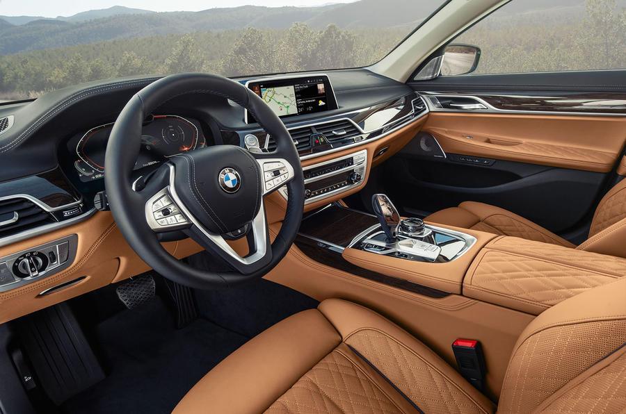 BMW 7 Series 750Li 2019 first drive review - cabin
