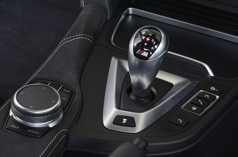 BMW M3 CS 2018 UK first drive review centre console