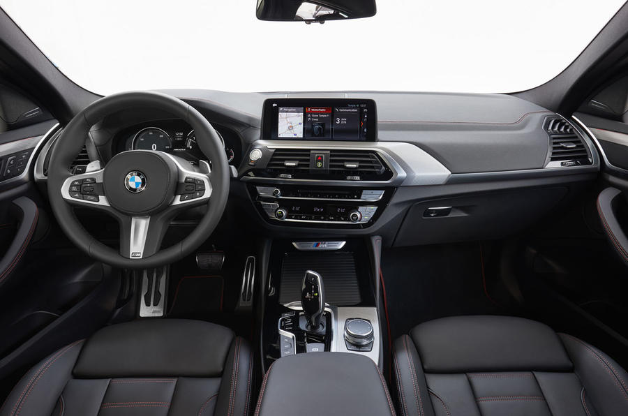 BMW X4 2018 first drive review cabin