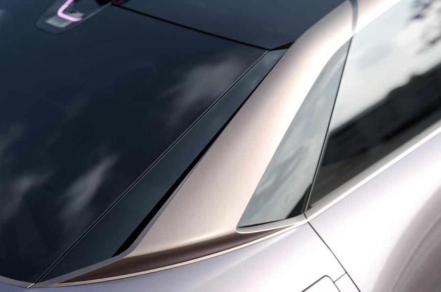 Byton K-Byte saloon concept rear pillars
