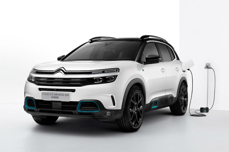 Citroen C5 Aircross SUV - front