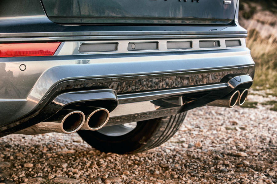 Cupra Ateca 2018 first drive review - exhaust