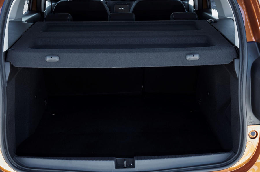 Dacia Duster 2018 first drive review boot space