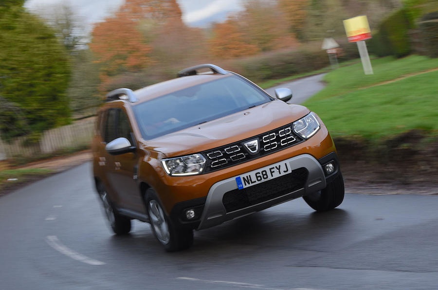 Dacia Duster 2019 long-term review - on the road front