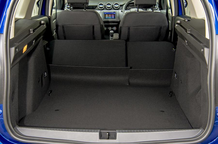 Dacia Duster Bi-Fuel 2020 UK first drive review - boot