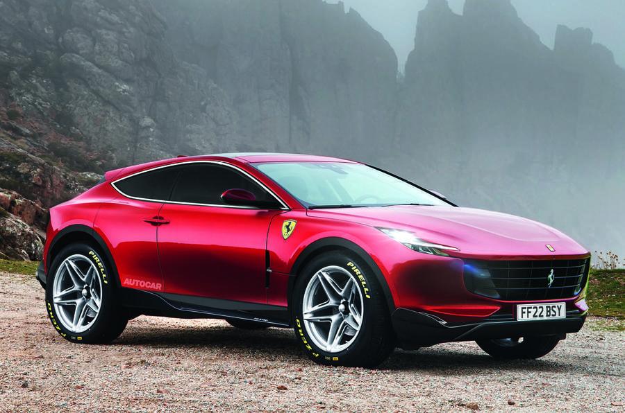 Ferrari SUV render