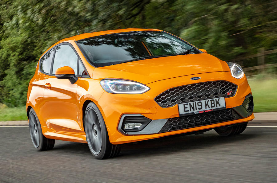 Ford Fiesta ST Performance 2019 first drive review - in the road front