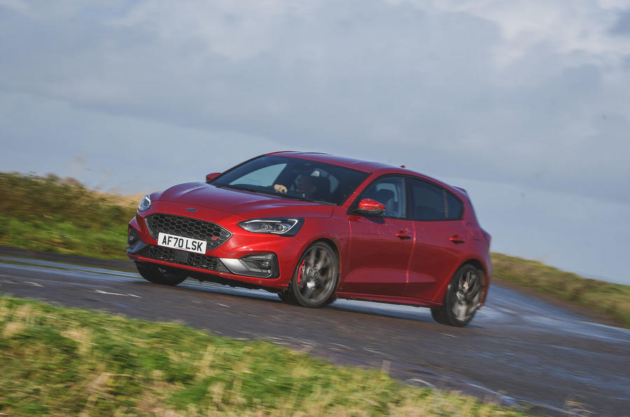 Ford Focus ST automatic 2020 UK first drive review - on the road front