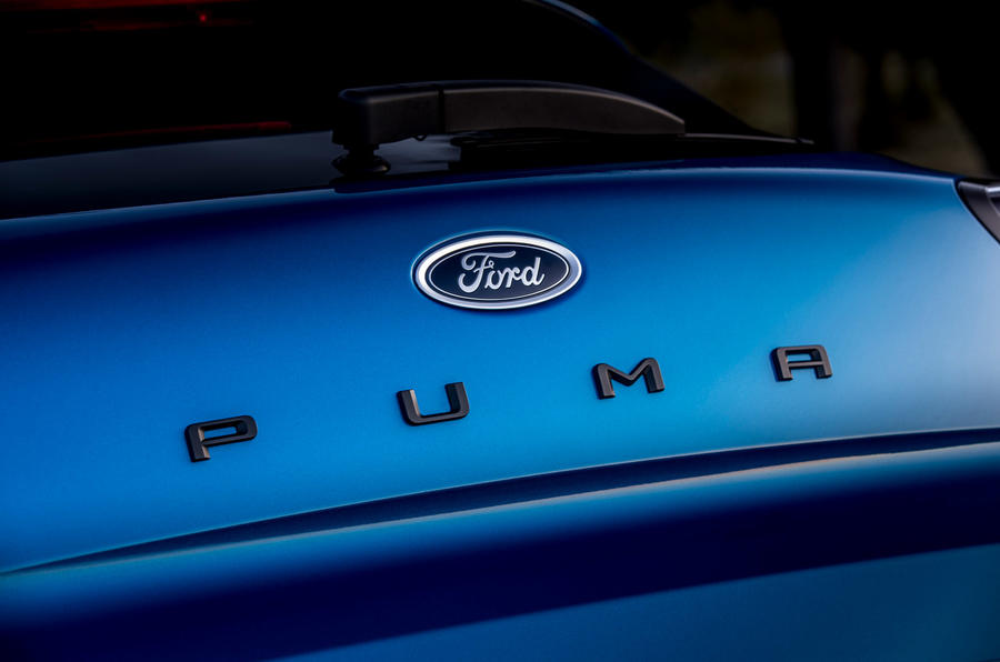 Ford Puma 2020 first drive review - rear logo