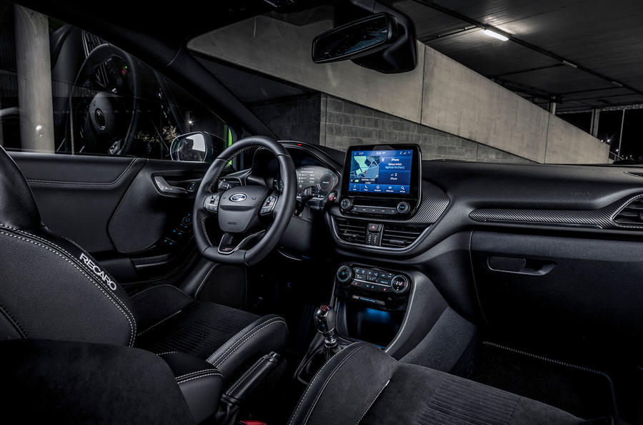 Ford Puma ST 2020 : premier bilan de la conduite au Royaume-Uni - cabine