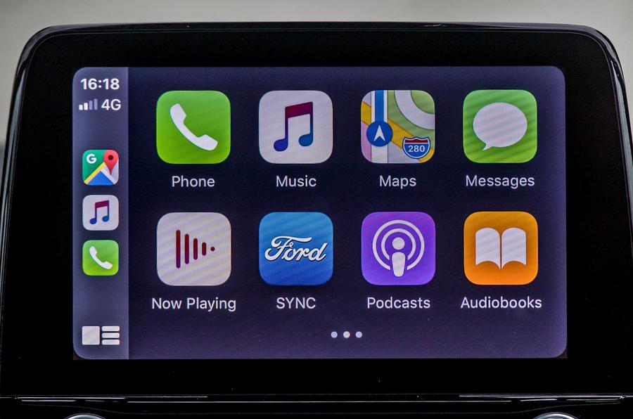 Ford Puma Titanium 2020 first drive review - infotainment