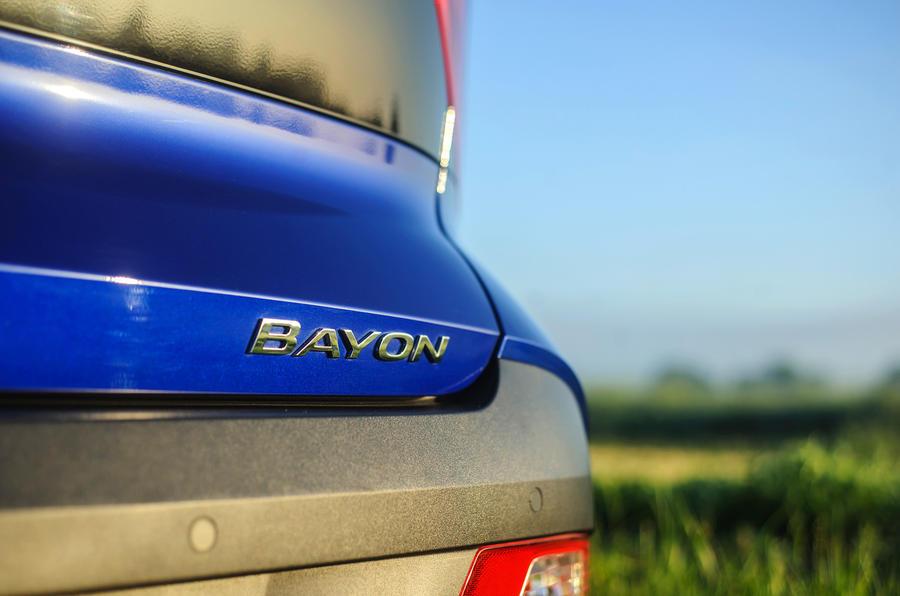 9 Badge arrière Hyundai Bayon 2021 UE FD