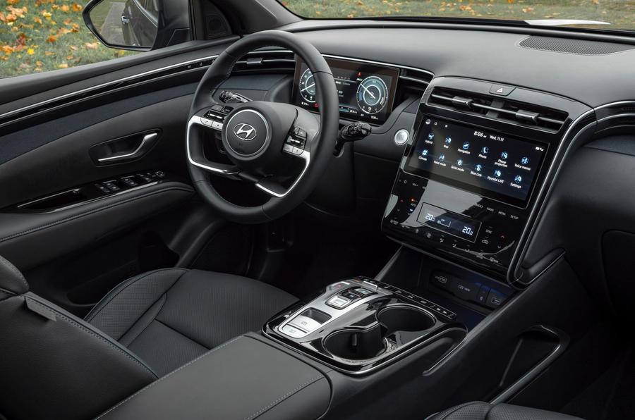 Hyundai Tucson 2020 UK first drive review - dashboard