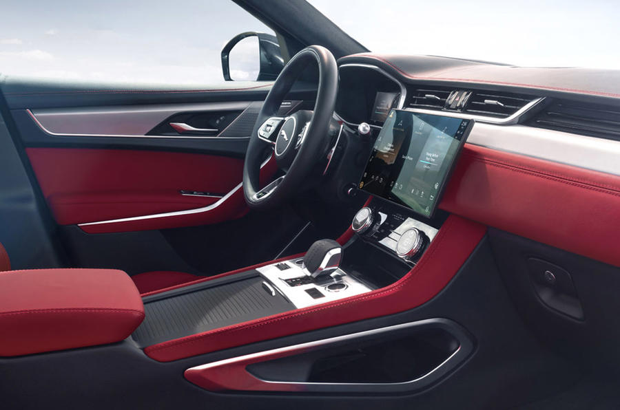 Jaguar F-Pace - interior