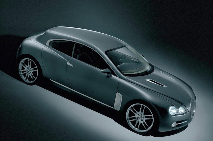 Jaguar RD-6 concept - static side