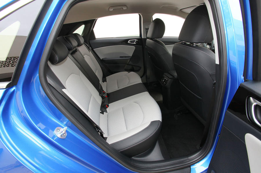 Kia Ceed 2018 first drive review rear seats