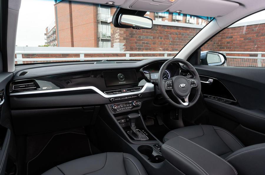 Kia Niro PHEV 2020 UK first drive review - cabin