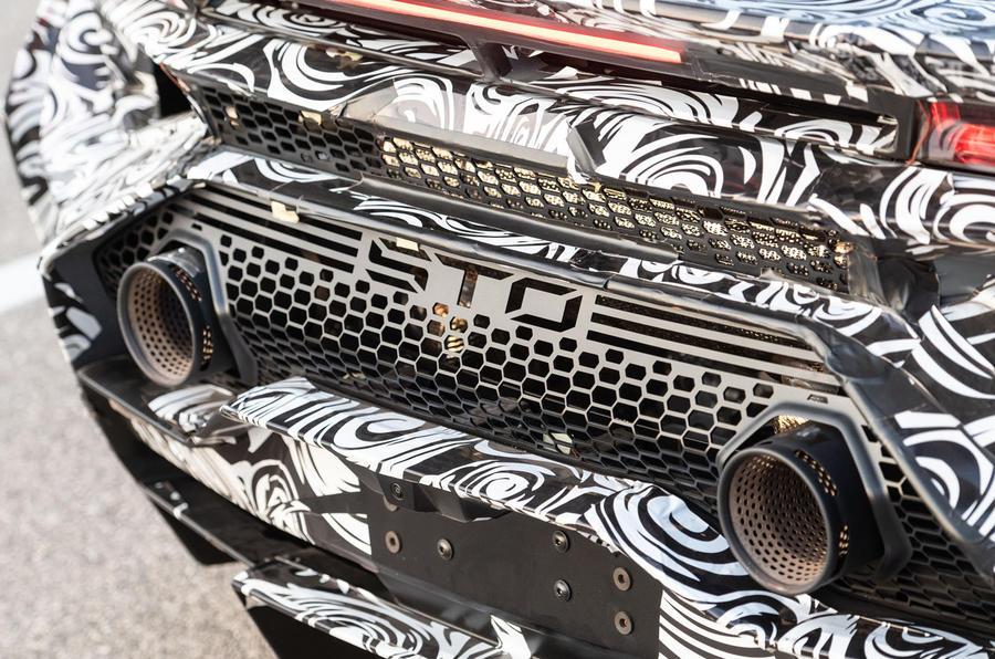 Lamborghini Huracan STO 2020 : premier bilan de conduite - échappements