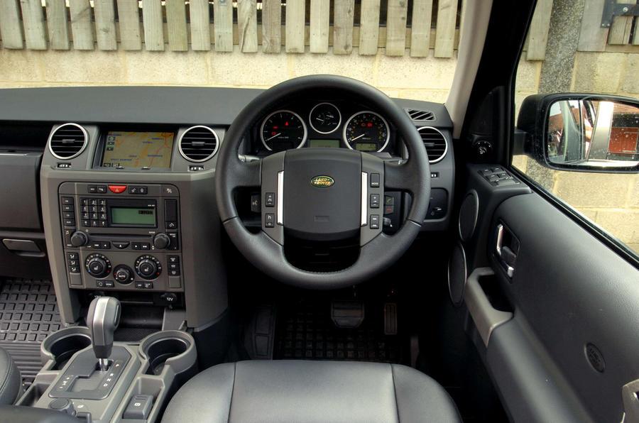 Land Rover Discovery Mk3 - interior