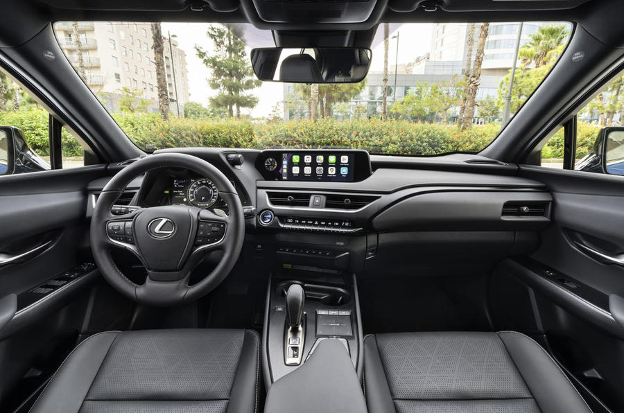 Lexus UX300e 2020 UK first drive review - dashboard