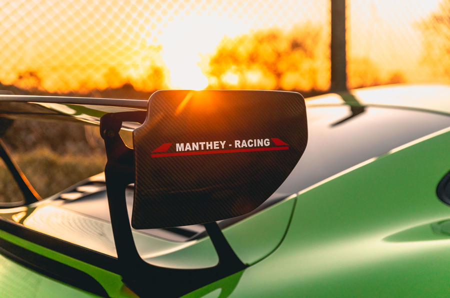 Manthey 911 GT3 RS MR 2020 first drive review - spoiler