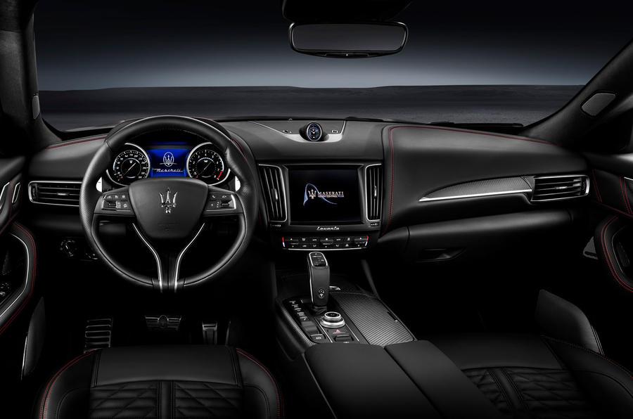 Maserati Levante Trofeo 2019 first drive review - dashboard