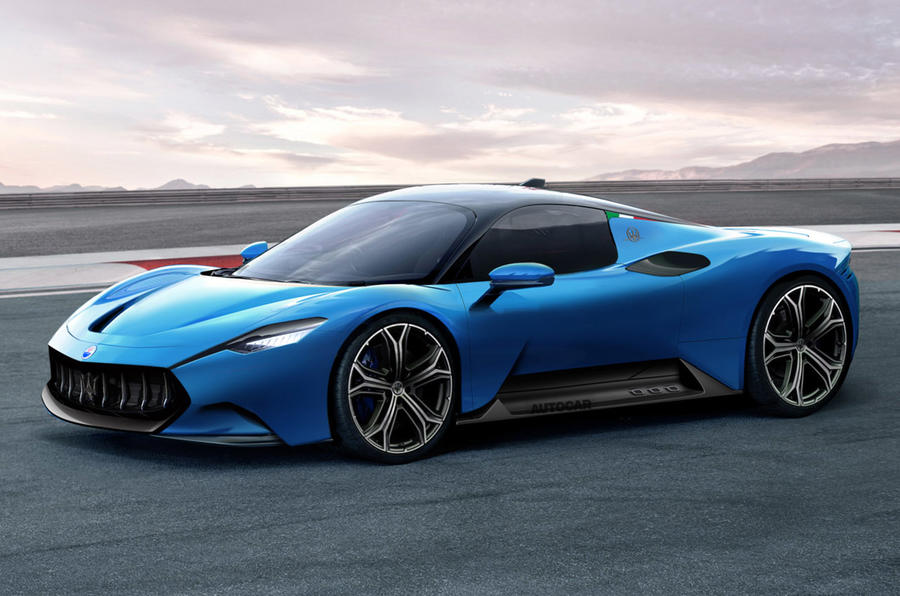 Maserati MC20 render 2020 - static front