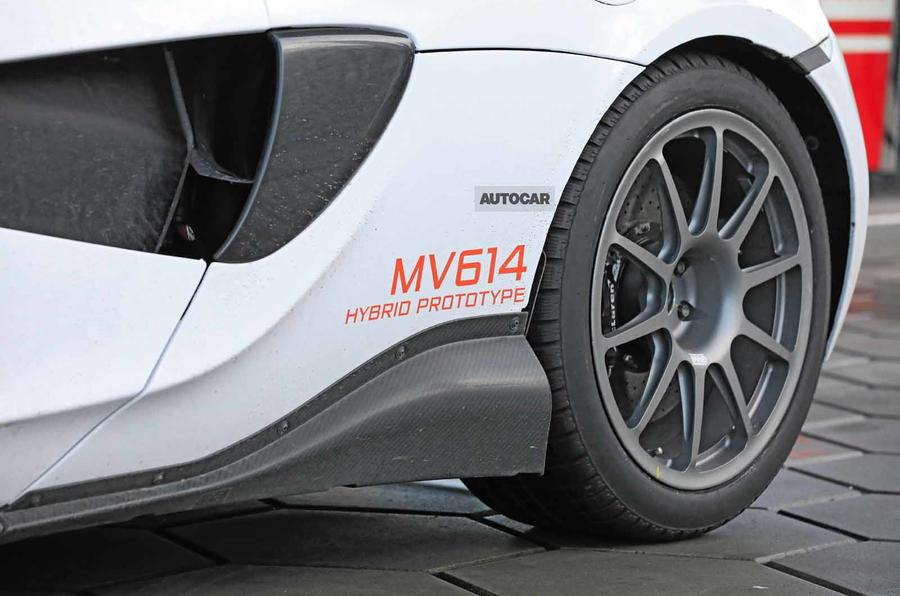 McLaren Sports Series Hybrid prototype bodykit