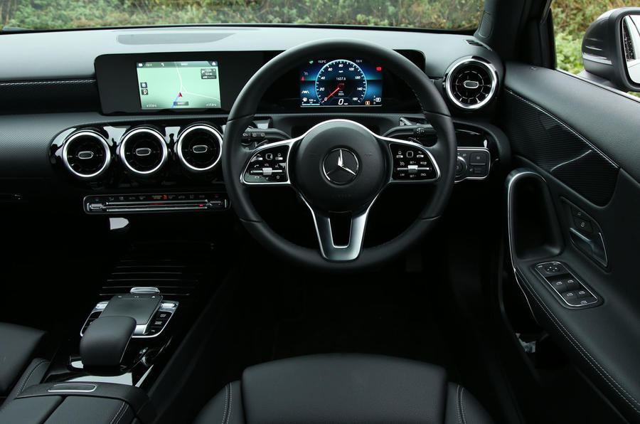 Mercedes-Benz A-Class 2018 long-term review - dashboard