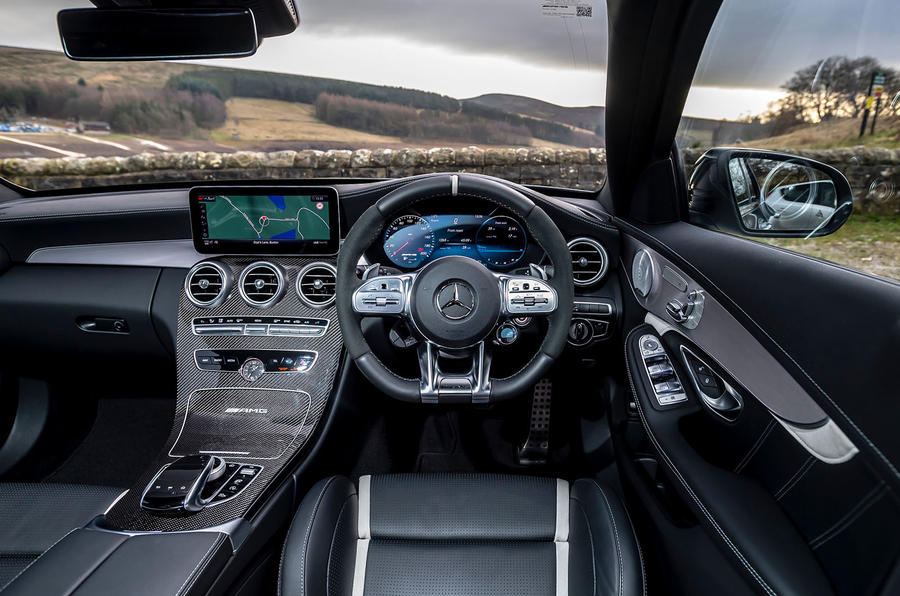 Mercedes-AMG C63 S Estate 2019 first drive review - dashboard