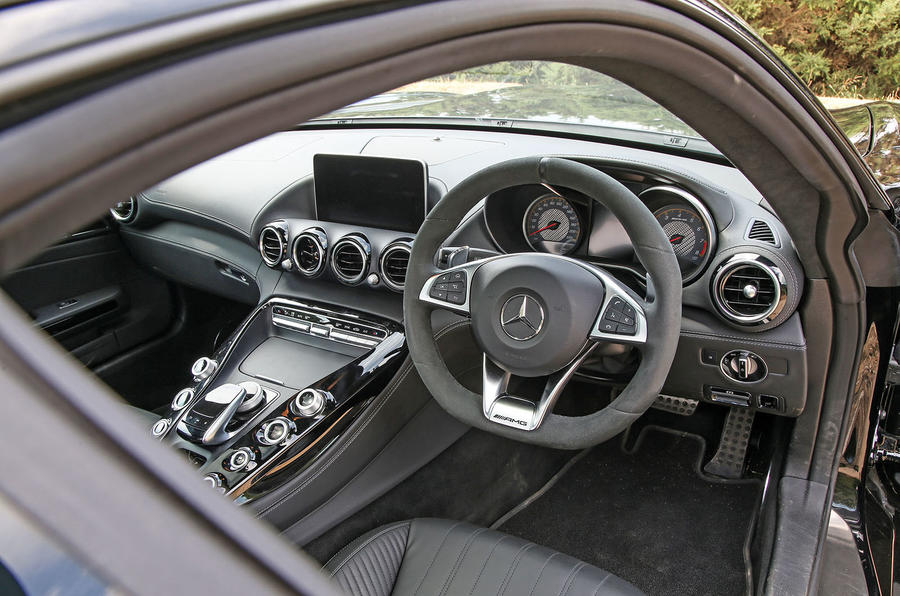 Mercedes-AMG GT C 2018 first drive review cabin