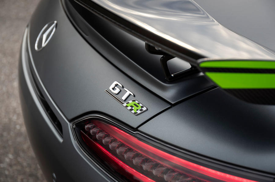 Mercedes-AMG GT R Pro 2019 first drive review - rear badge