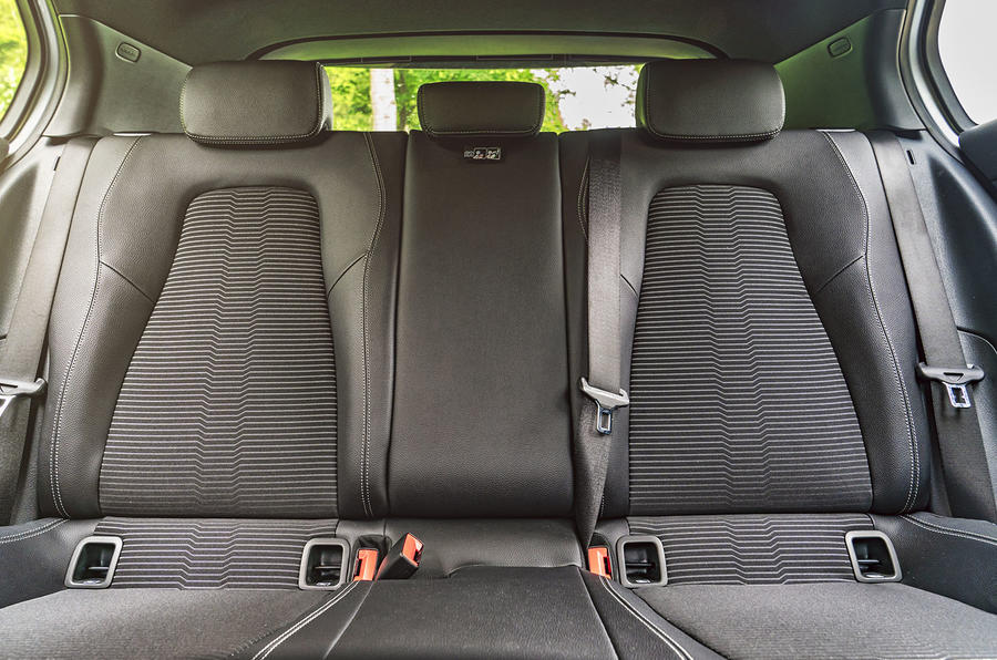 Mercedes-Benz A-Class A180 SE 2019 first drive review - rear seats